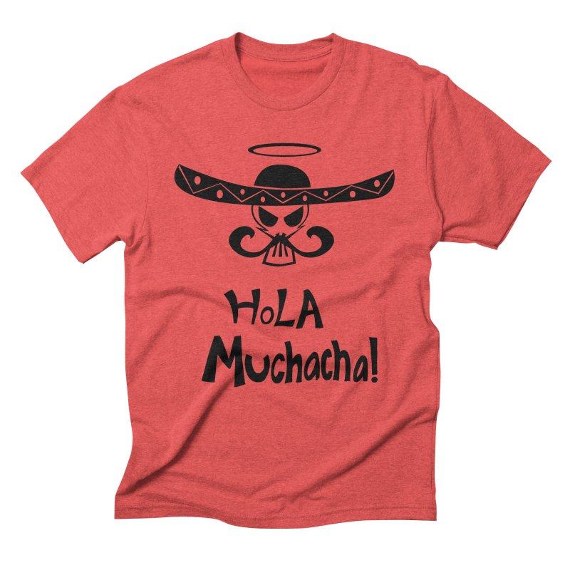 Marichi Hola! Men's Triblend T-Shirt by POP COLOR BOT