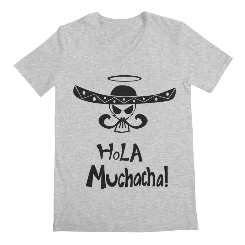 Marichi Hola! Men's Regular V-Neck by POP COLOR BOT