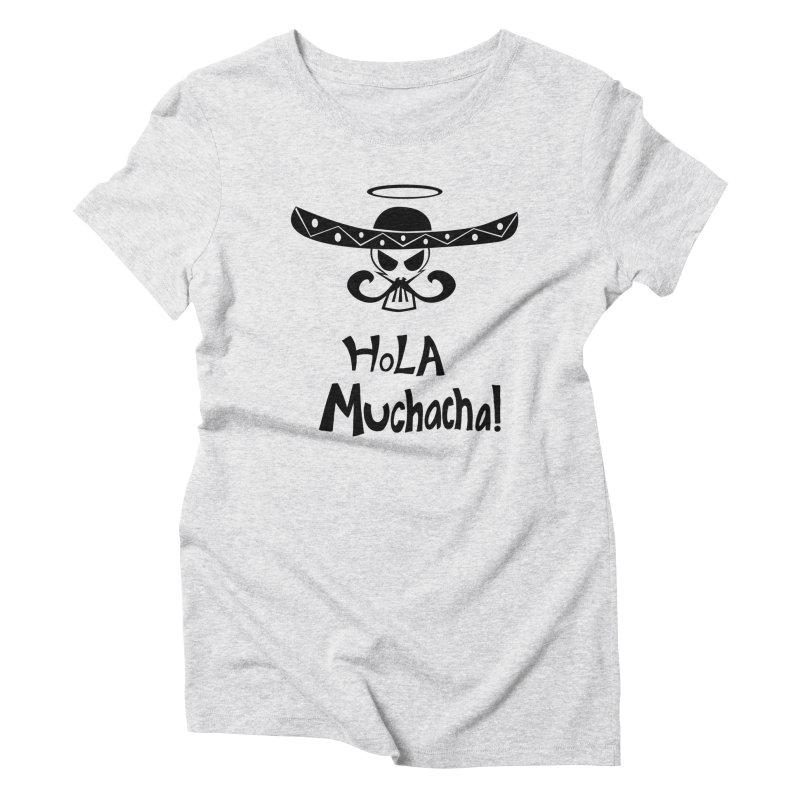 Marichi Hola! Women's Triblend T-Shirt by POP COLOR BOT