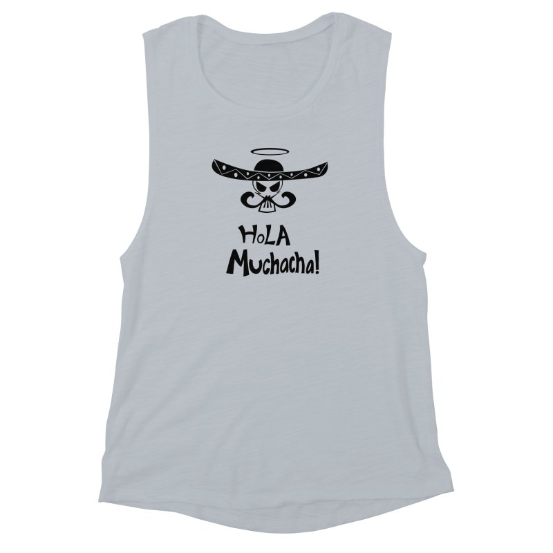 Marichi Hola! Women's Muscle Tank by POP COLOR BOT