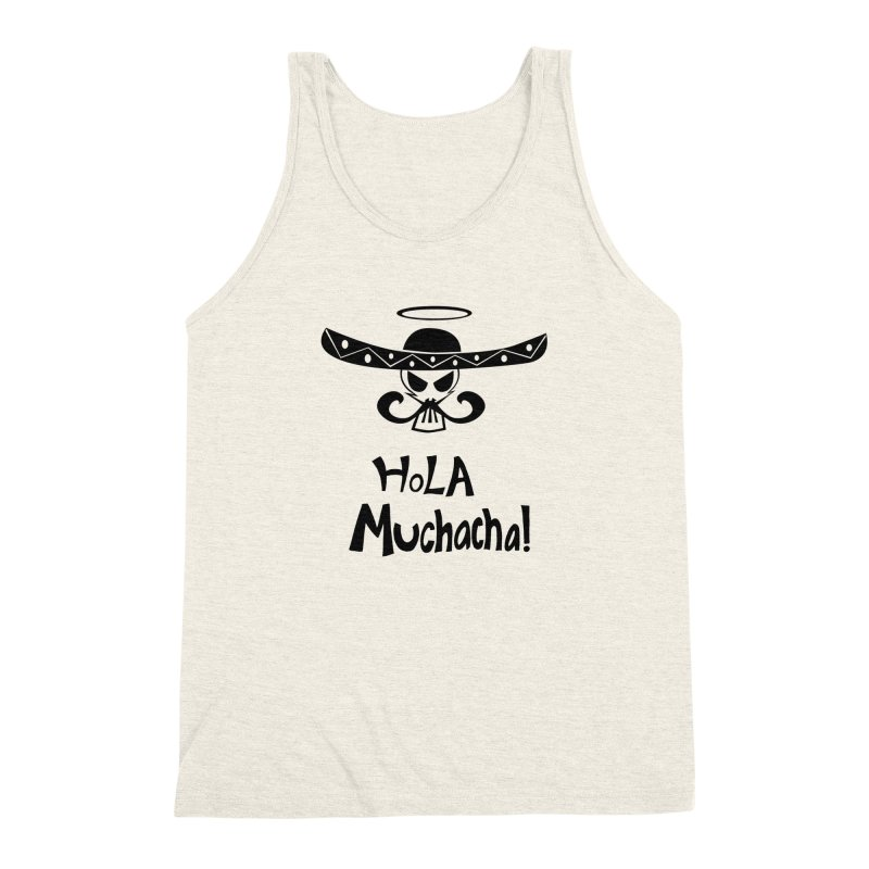 Marichi Hola! Men's Triblend Tank by POP COLOR BOT