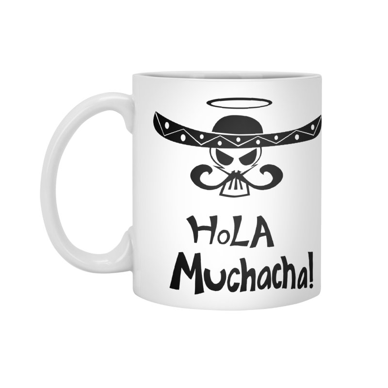 Marichi Hola! Accessories Mug by POP COLOR BOT