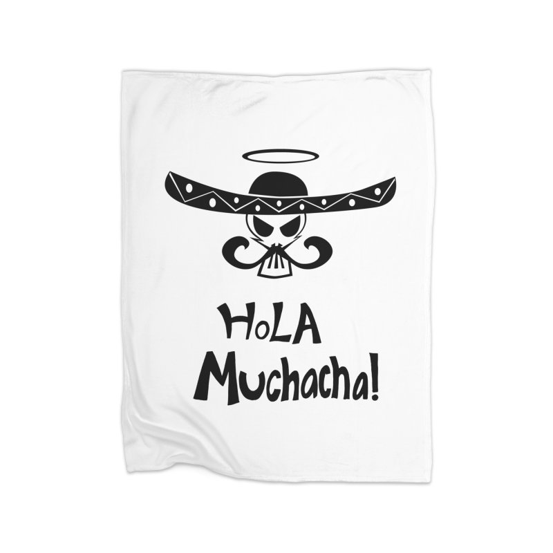 Marichi Hola! Home Blanket by POP COLOR BOT