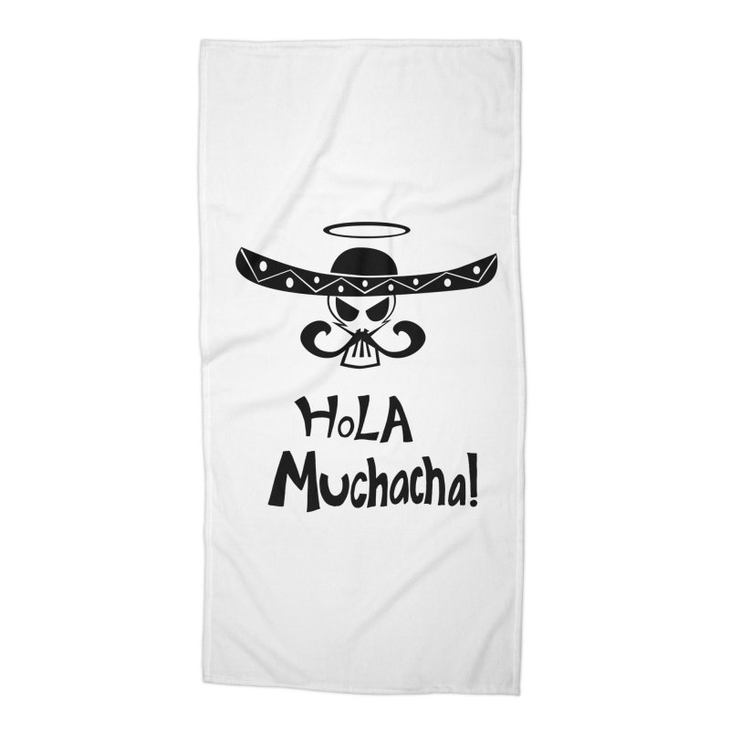 Marichi Hola! Accessories Beach Towel by POP COLOR BOT