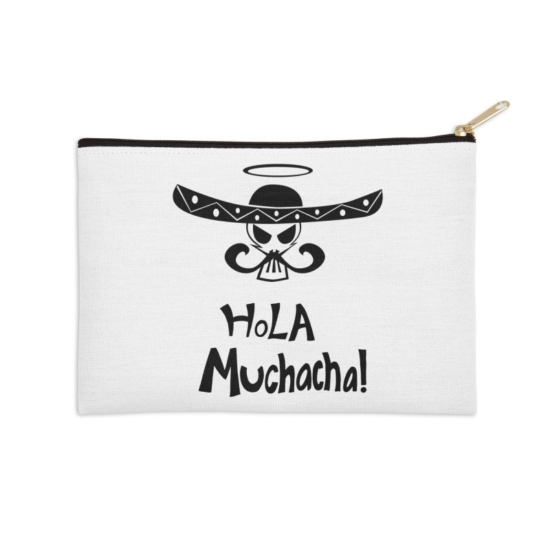 Marichi Hola! Accessories Zip Pouch by POP COLOR BOT