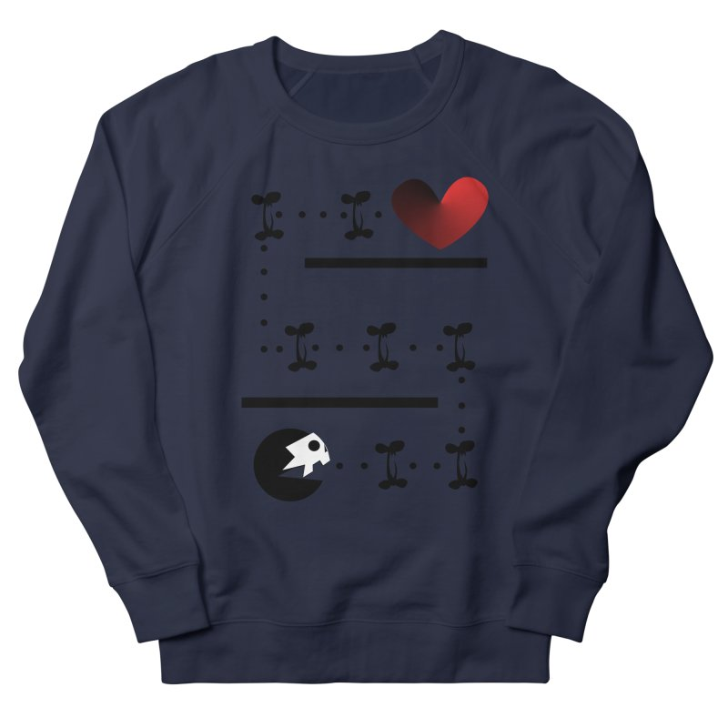 Pac-Deadly Men's Sweatshirt by POP COLOR BOT