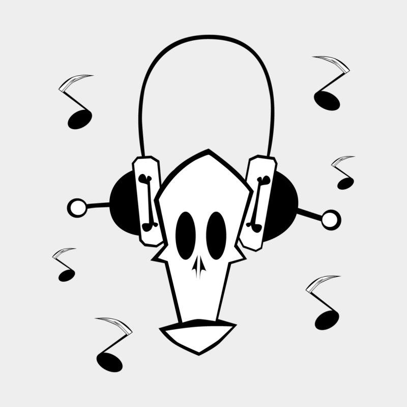 pop skull Men's V-Neck by POP COLOR BOT