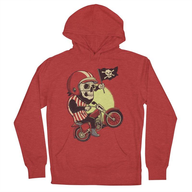 Skull Biker Men's Pullover Hoody by yortsiraulo's Artist Shop