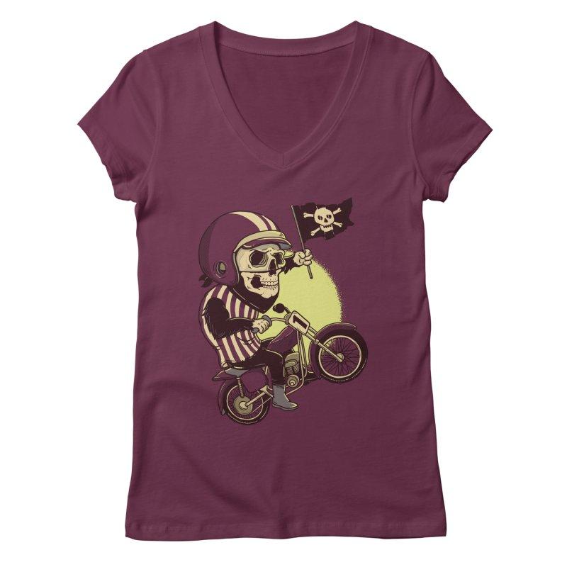 Skull Biker   by yortsiraulo's Artist Shop