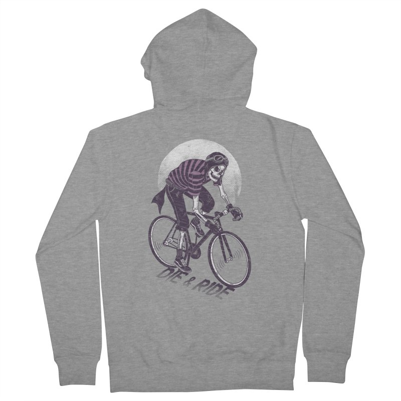 Die & Ride Women's Zip-Up Hoody by yortsiraulo's Artist Shop