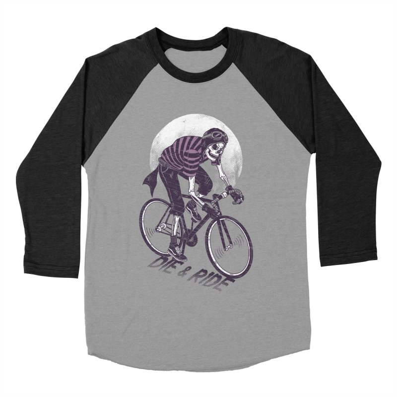 Die & Ride Men's Baseball Triblend T-Shirt by yortsiraulo's Artist Shop
