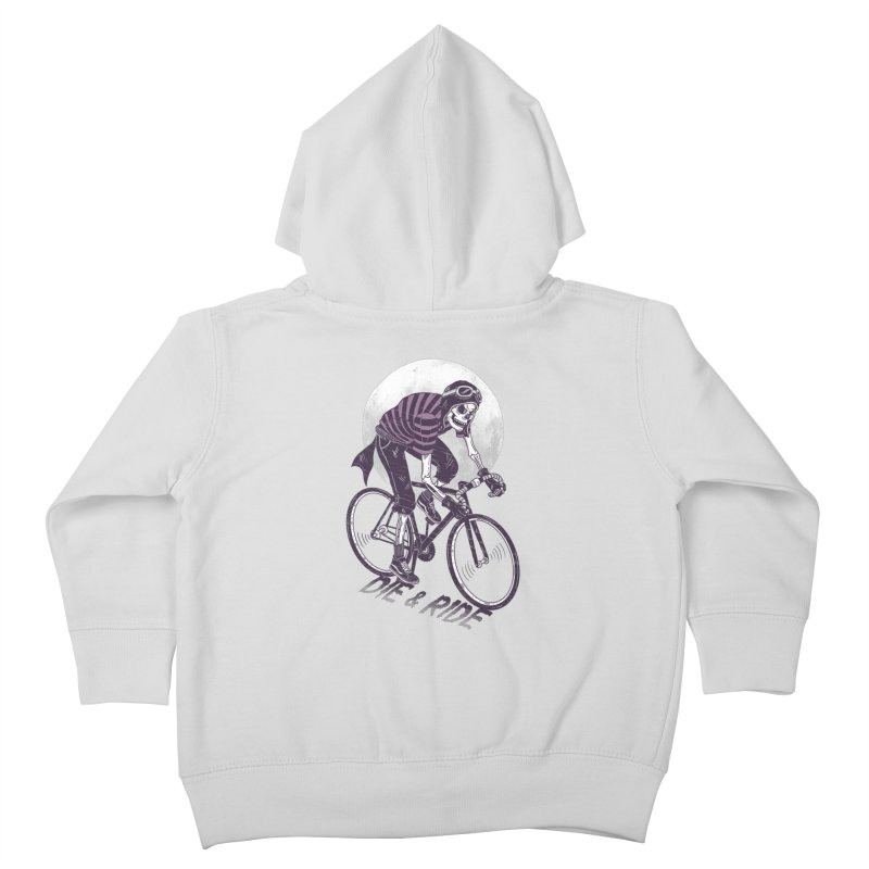 Die & Ride Kids Toddler Zip-Up Hoody by yortsiraulo's Artist Shop