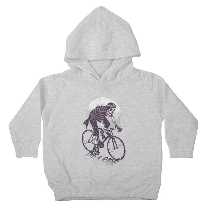 Die & Ride Kids Toddler Pullover Hoody by yortsiraulo's Artist Shop
