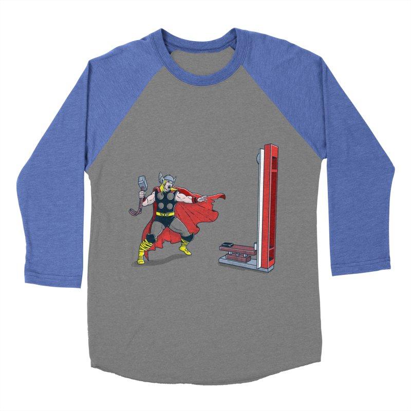 The Strongman Game Champion Women's Baseball Triblend T-Shirt by yortsiraulo's Artist Shop
