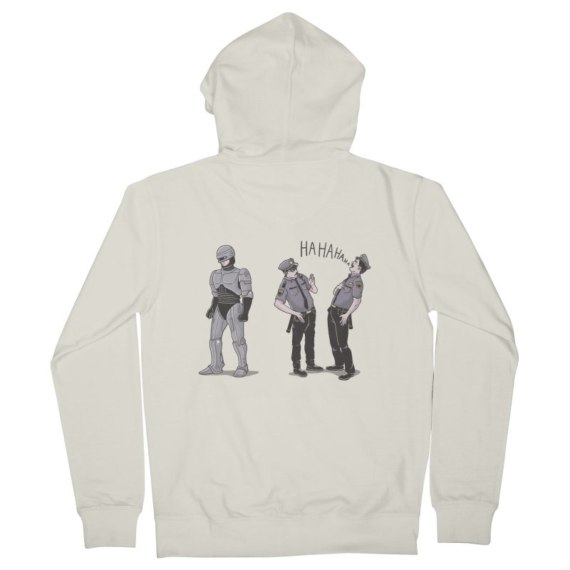 Robot Tears Women's Zip-Up Hoody by yortsiraulo's Artist Shop