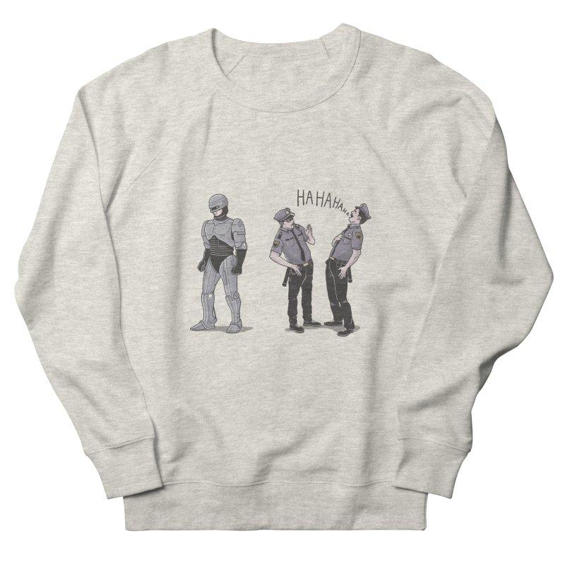 Robot Tears Men's Sweatshirt by yortsiraulo's Artist Shop