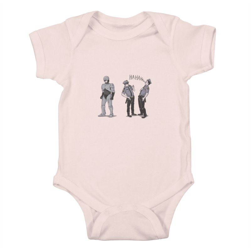 Robot Tears Kids Baby Bodysuit by yortsiraulo's Artist Shop