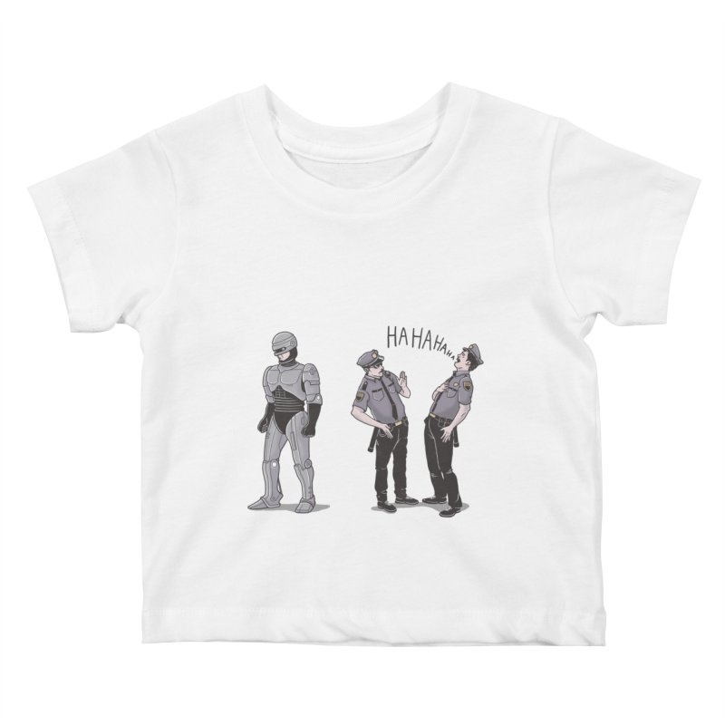Robot Tears Kids Baby T-Shirt by yortsiraulo's Artist Shop
