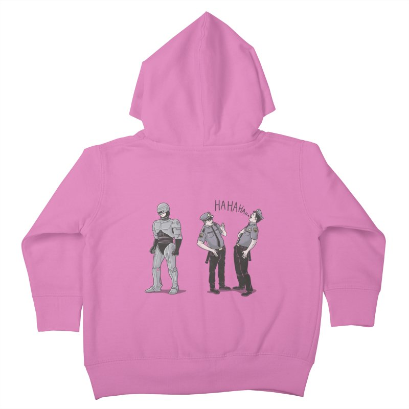 Robot Tears Kids Toddler Zip-Up Hoody by yortsiraulo's Artist Shop