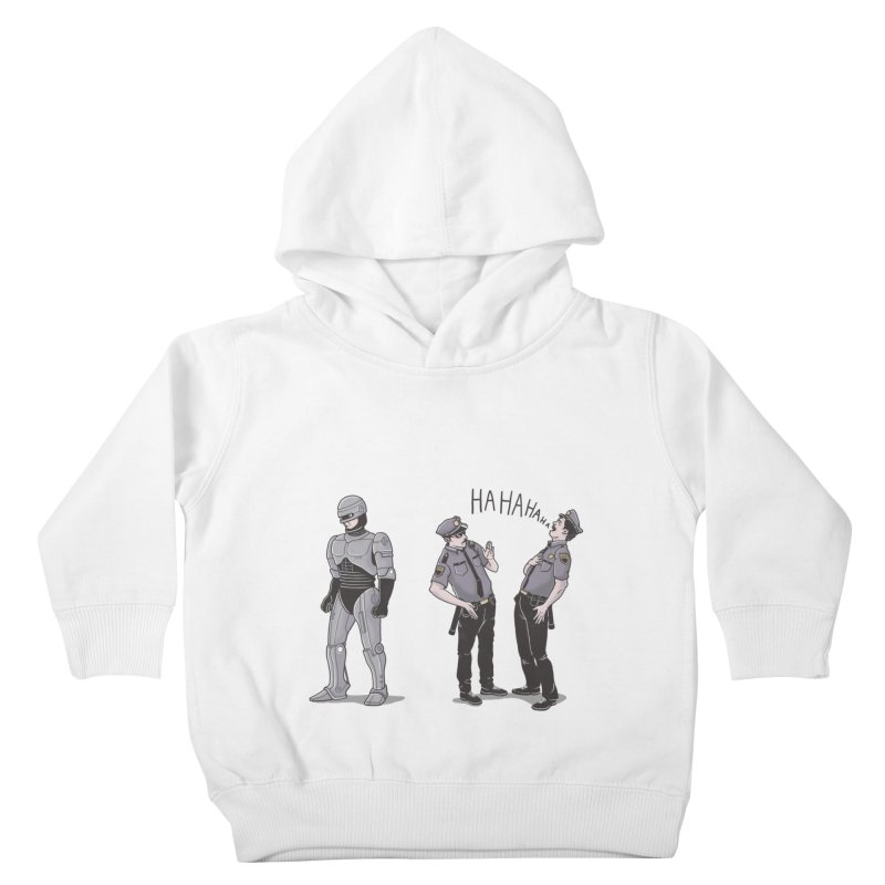 Robot Tears Kids Toddler Pullover Hoody by yortsiraulo's Artist Shop