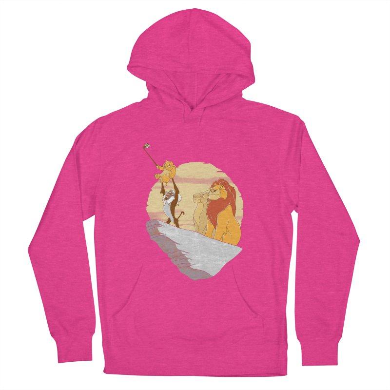Pride Rock Selfie Women's Pullover Hoody by yortsiraulo's Artist Shop