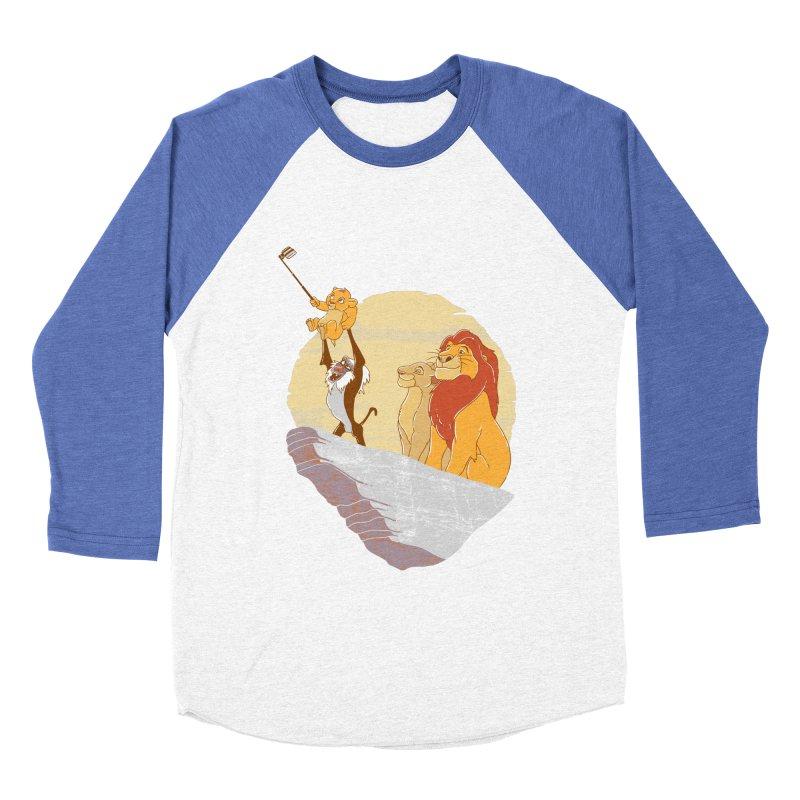 Pride Rock Selfie Women's Baseball Triblend T-Shirt by yortsiraulo's Artist Shop