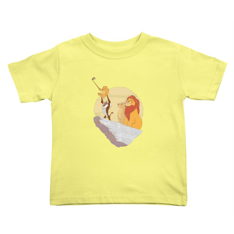 Pride Rock Selfie Kids Toddler T-Shirt by yortsiraulo's Artist Shop