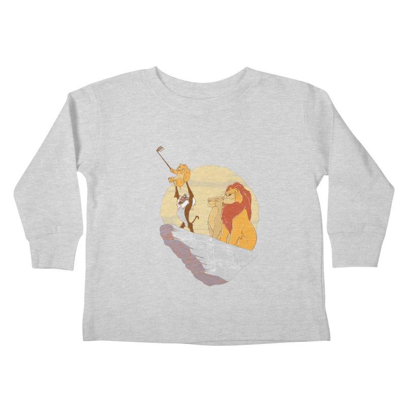 Pride Rock Selfie Kids Toddler Longsleeve T-Shirt by yortsiraulo's Artist Shop