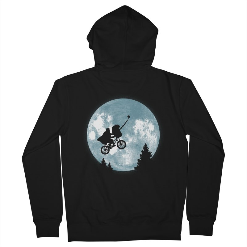 Phone Home Selfie Women's Zip-Up Hoody by yortsiraulo's Artist Shop
