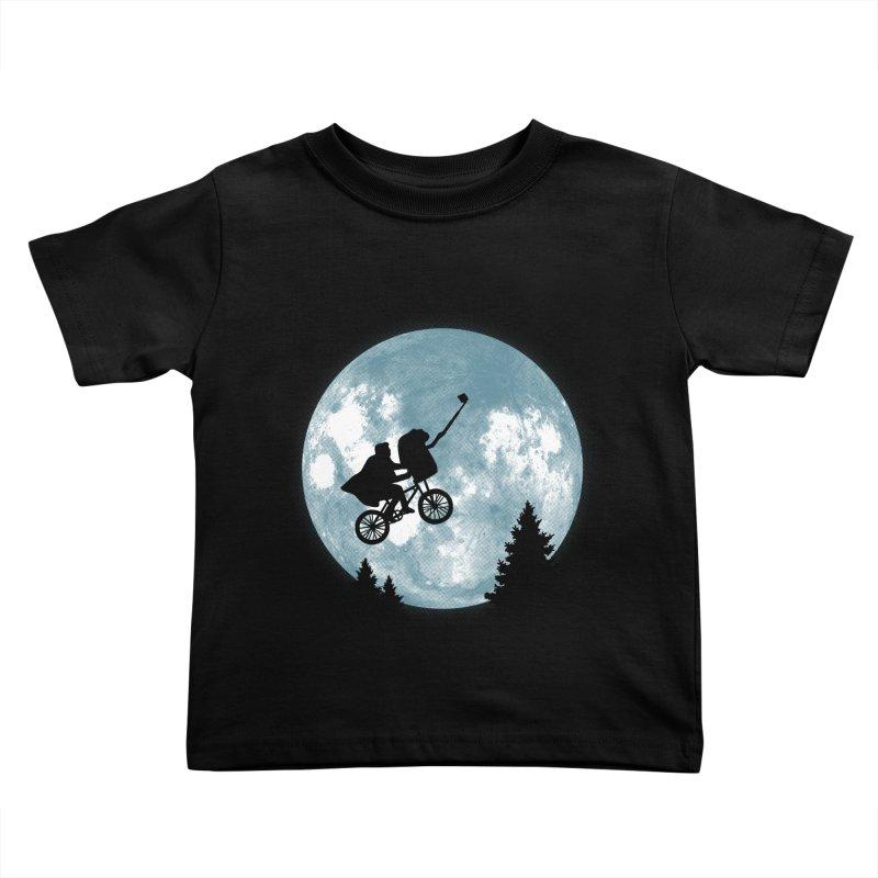 Phone Home Selfie Kids Toddler T-Shirt by yortsiraulo's Artist Shop