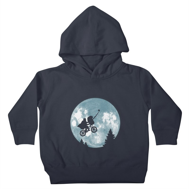 Phone Home Selfie Kids Toddler Pullover Hoody by yortsiraulo's Artist Shop