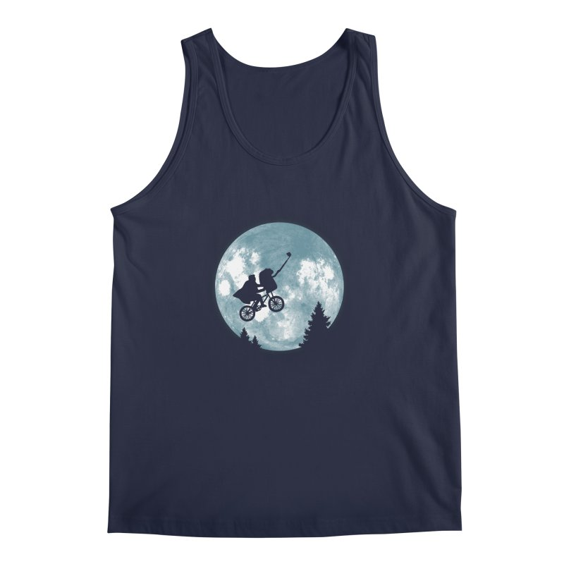 Phone Home Selfie Men's Tank by yortsiraulo's Artist Shop
