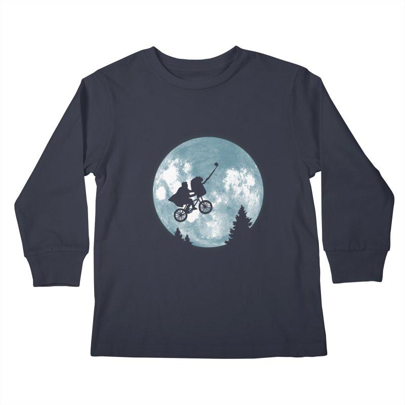 Phone Home Selfie Kids Longsleeve T-Shirt by yortsiraulo's Artist Shop