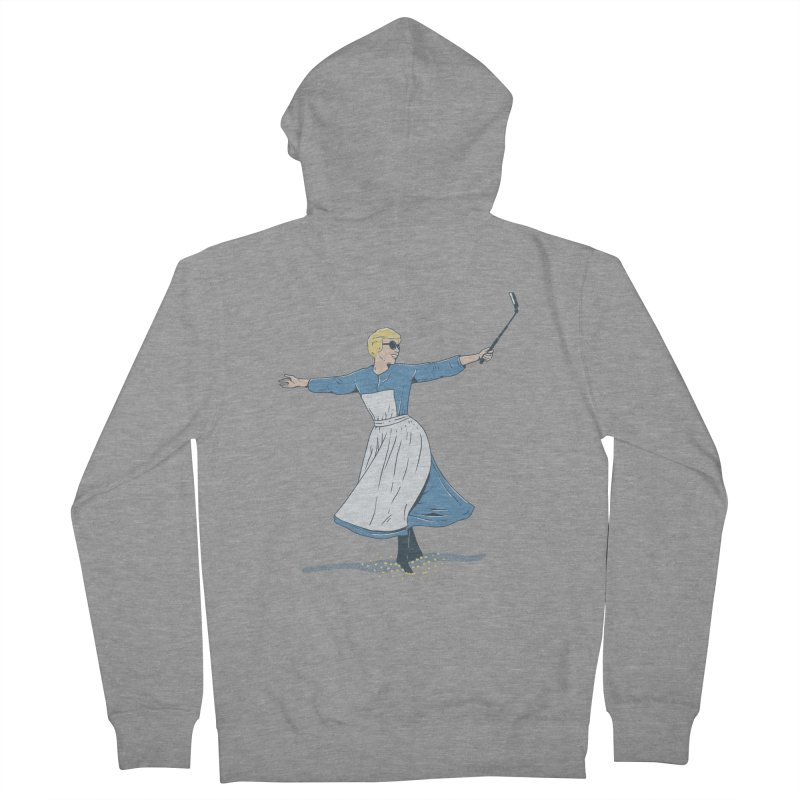 The Sound of Selfie Women's Zip-Up Hoody by yortsiraulo's Artist Shop