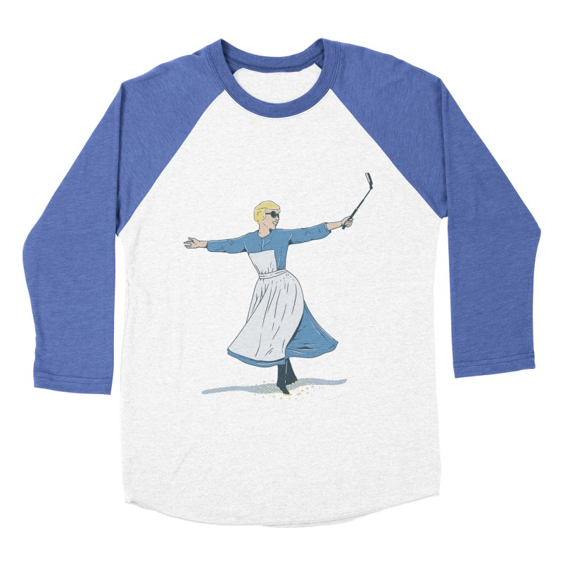 The Sound of Selfie Women's Baseball Triblend T-Shirt by yortsiraulo's Artist Shop