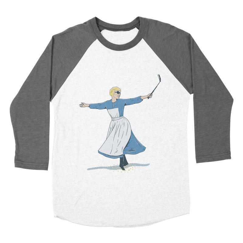 The Sound of Selfie Men's Baseball Triblend T-Shirt by yortsiraulo's Artist Shop