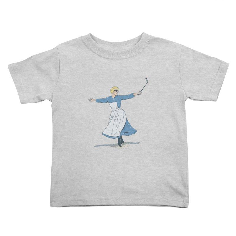 The Sound of Selfie Kids Toddler T-Shirt by yortsiraulo's Artist Shop
