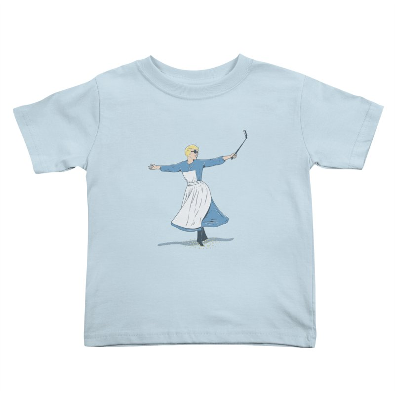 The Sound of Selfie Kids Toddler T-Shirt by yortsiraulo's Artist Shop