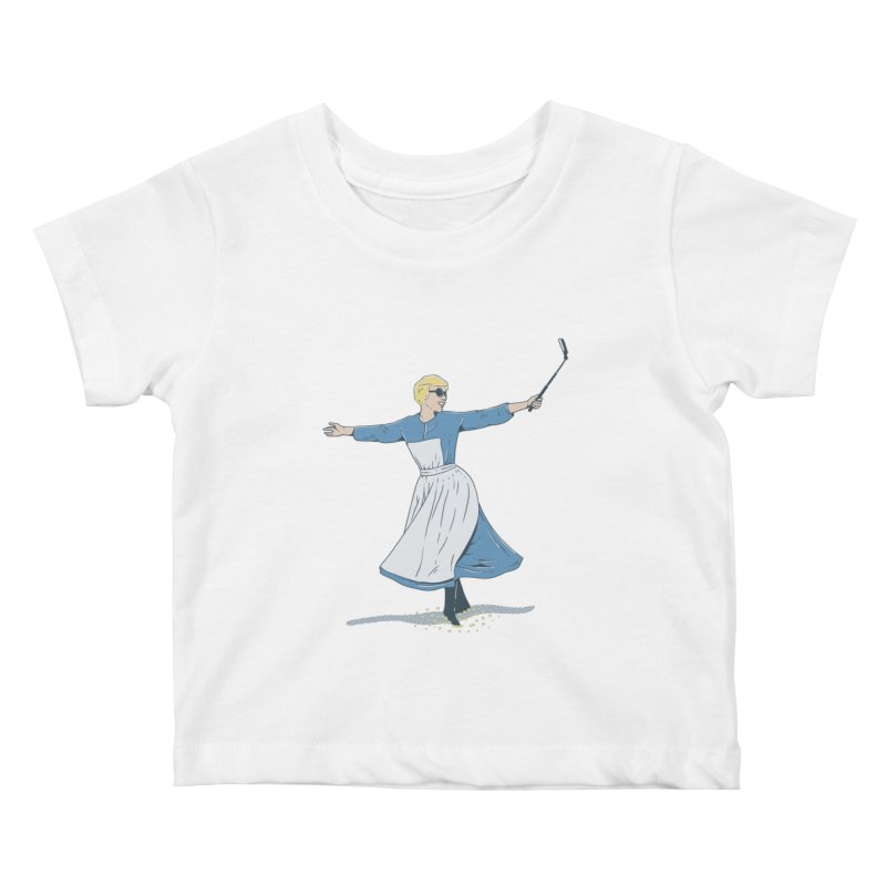 The Sound of Selfie Kids Baby T-Shirt by yortsiraulo's Artist Shop