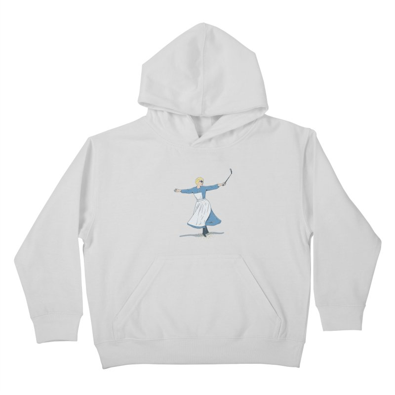 The Sound of Selfie Kids Pullover Hoody by yortsiraulo's Artist Shop