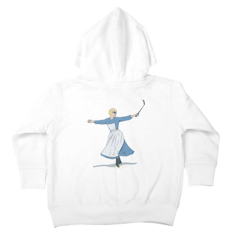 The Sound of Selfie Kids Toddler Zip-Up Hoody by yortsiraulo's Artist Shop