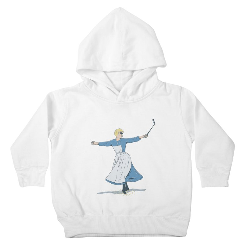 The Sound of Selfie Kids Toddler Pullover Hoody by yortsiraulo's Artist Shop