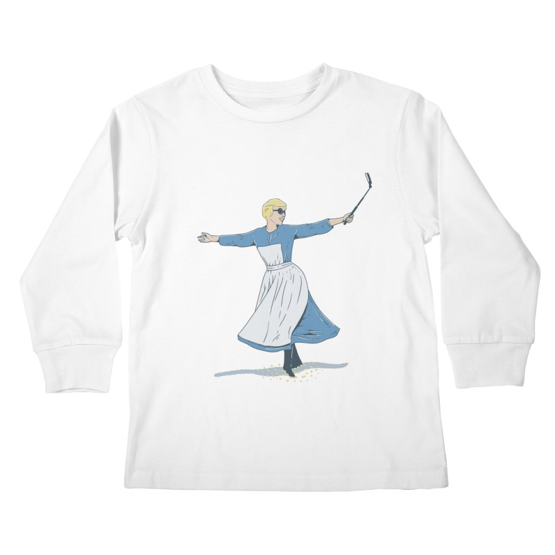 The Sound of Selfie Kids Longsleeve T-Shirt by yortsiraulo's Artist Shop