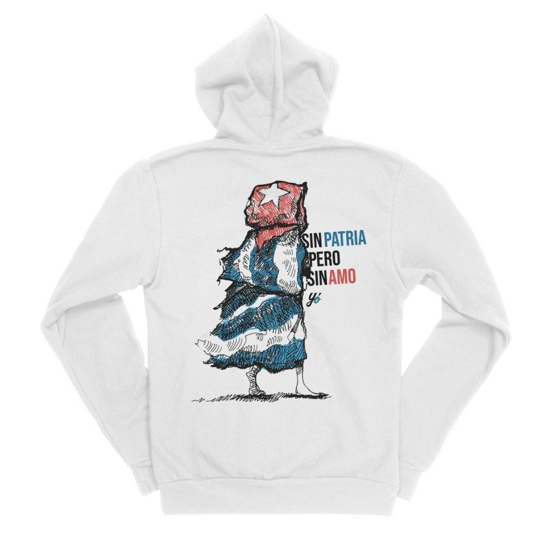 """""""Sin Patria Pero Sin Amo"""" Women's Zip-Up Hoody by YoSilvera's Artist Shop"""