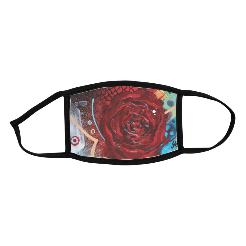Rose VII Accessories Face Mask by YoSilvera's Artist Shop
