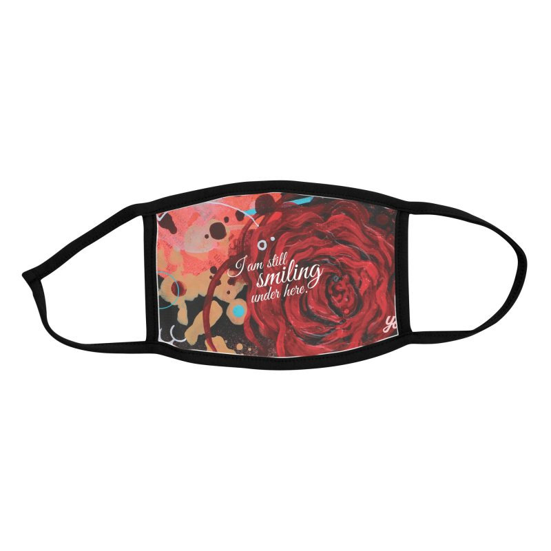 Rose VIII Accessories Face Mask by YoSilvera's Artist Shop