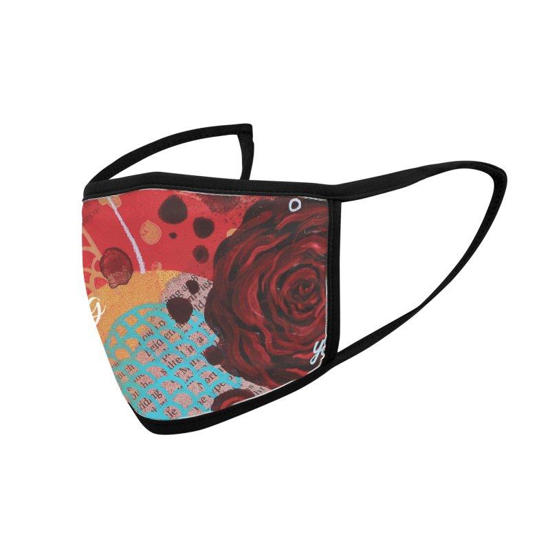 Rose IX Accessories Face Mask by YoSilvera's Artist Shop