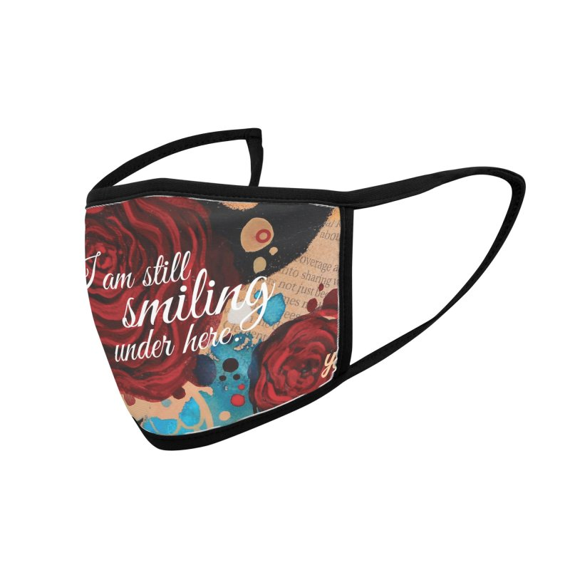 Rose X Accessories Face Mask by YoSilvera's Artist Shop