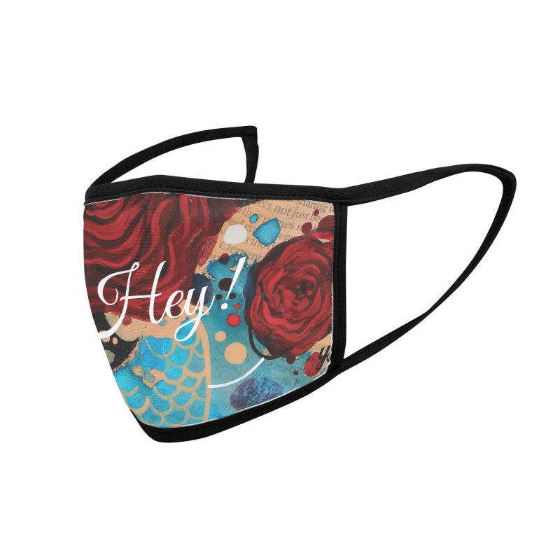Rose XIII Accessories Face Mask by YoSilvera's Artist Shop