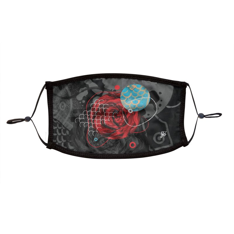 Rose XV Accessories Face Mask by YoSilvera's Artist Shop
